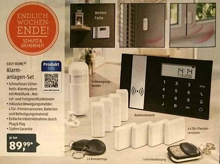 Aldi Alarmanlage EASY HOME